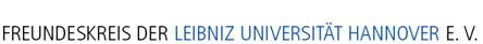 Leibniz Universitätsgesellschaft Hannover e.V. Logo